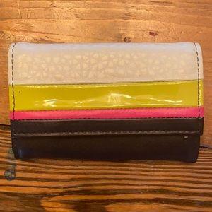Diane Von Furstenberg Italian Leather Card Case